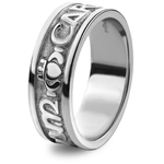 sterling silver wedding rings