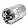 Capacitor Round Dual Section 80/10 MFD 370/440VAC