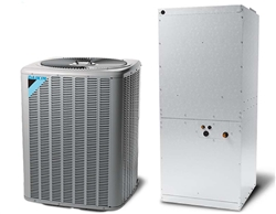 10 ton Daikin Split heat pump central air system 208/230V or 460V 3 Phase - DZ11SC120 / DAR1204