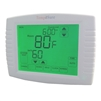 TempĕSure Thermostat 3H/2C Digital Touch Screen Programmable Straight Cool, Heat Pump, Electric Heat, Gas Heat, Dual Fuel Compatible TESPT32