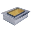 Supply boot metal insulated 12 X 8 R6