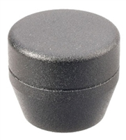 ASP Baton Grip Cap - Black Textured Finish