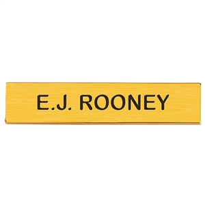"Blackinton J2 Name Plate, 3"" x 5/8"""