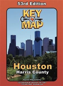 Harris County Houston Key Map - 53rd Edition