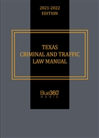 Texas Criminal and Traffic Law Manual 09-10