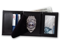 "Perfect Fit Trifold Wallet with Single ID (ID Size 2-1/2"" x 4"")"