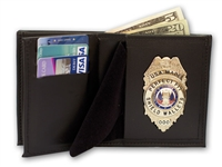 Perfect Fit Hidden badge wallet