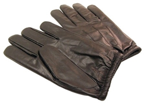 Armorflex Gloves -  Leather Cut Resistance Street & Search Glove with Lining of 100% Kevlar® Yarn - PFU-10