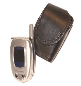 Stallion Leather Flip Cell Phone Holder