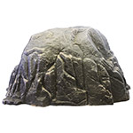 "Dekorra 103-RB-PRO - Large Riverbed Rock Enclosure with Pro-R Thermal Wall Construction (56""L x 42""W x 30""H)"