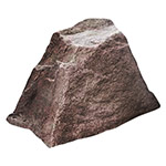 "Dekorra 106-RB - Small Square Riverbed Rock Enclosure (19""L x 14""W x 12""H)"
