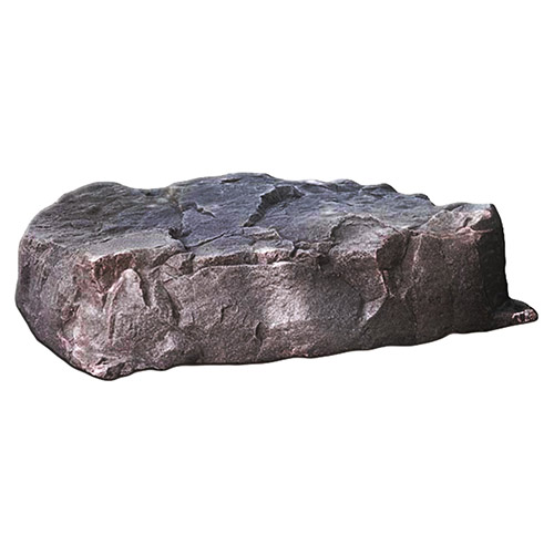 "Dekorra 112-RB-PRO - Large Diameter Low Profile Riverbed Rock Enclosure with Pro-R Thermal Wall Construction (36""L x 36""W x 9""H)"