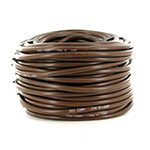 12-002 - 1/4 inch Brown Vinyl Distribution Tubing (100 ft roll)