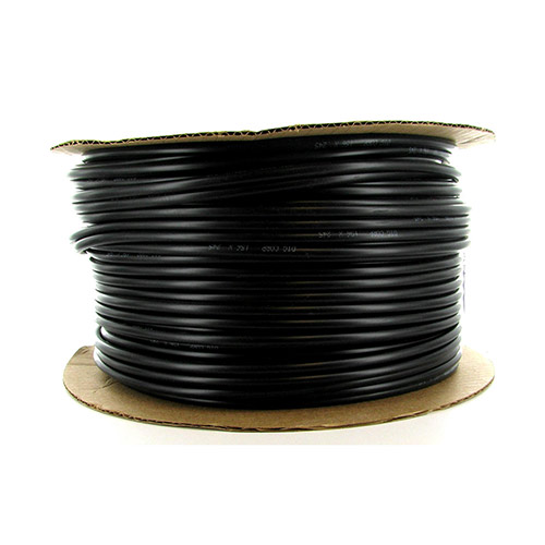 12-005 - 1/4 inch Black Vinyl Distribution Tubing (500 ft roll)