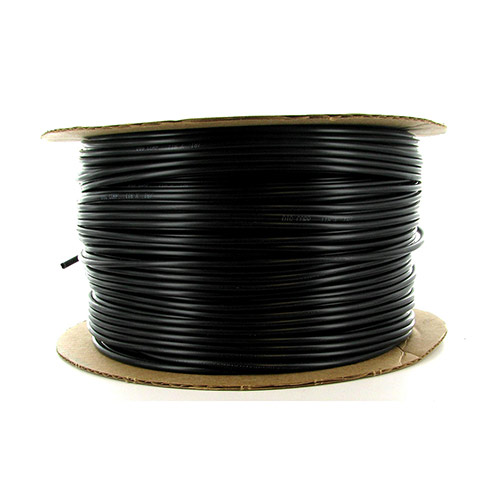 12-043 - 1/8 inch Black Vinyl Distribution Tubing (1000 ft roll)
