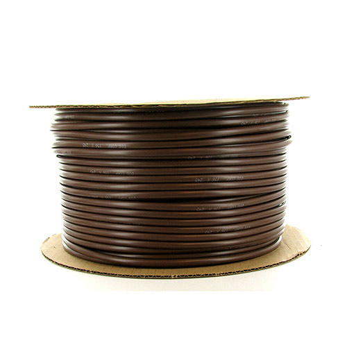 12-049 - 1/4 inch Brown Vinyl Distribution Tubing (500 ft roll)