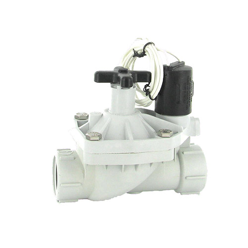 "Weathermatic 12024EF-10-H - 1"" 12000 Silver Bullet Series Plastic Control Valve with Flow Control"