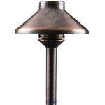FX 150750 JoliSoldat 3LED Pathlight with 12 in. Riser (Antique Bronze)