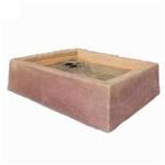 Dekorra 210-SD Large Faux Rock Planter Box in Sedona Sunset Finish