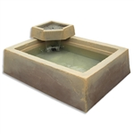 Dekorra 210-WF-TV Faux Rock Water Feature Basin Tuscan Villa Finish