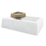 Dekorra 211-TV-Spillway Water Feature Spillway Tuscan Villa Finish