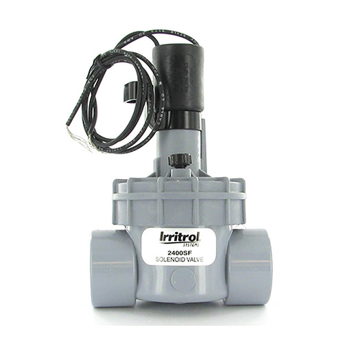 Irritrol 2400SF - 2400 Series Electric Globe Valve with Flow Control (1 inch Slip Inlet/Outlet)
