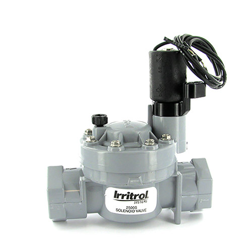 Irritrol 2500S - 1 inch 2500 Series Electric Slip Valve (1 inch Slip Inlet/Outlet)