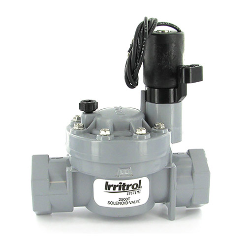 Irritrol 2500T - 1 inch 2500 Series Electric Valve (1 inch Threaded Inlet/Outlet)