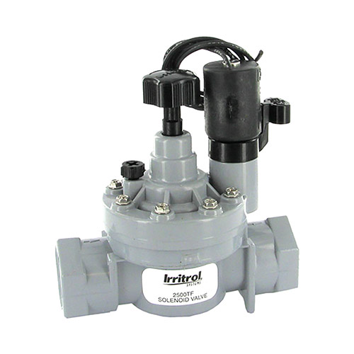 Irritrol 2500TF - 1 inch 2500 Series Electric Valve (1 inch Threaded Inlet/Outlet) with Flow Control