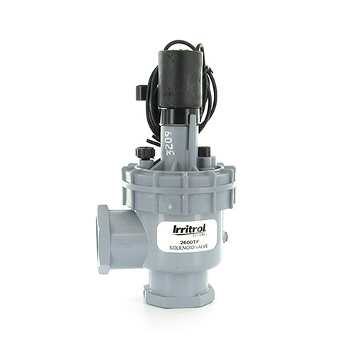 Irritrol 2600TF - 2600 Series Electric Globe Valve with Flow Control (1 inch Threaded Inlet/Outlet)