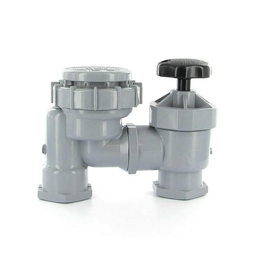 Irritrol 2709PR - 1 inch Anti-Siphon Manual Control Valve (Threaded Inlet/Outlet) w/ Flow Control