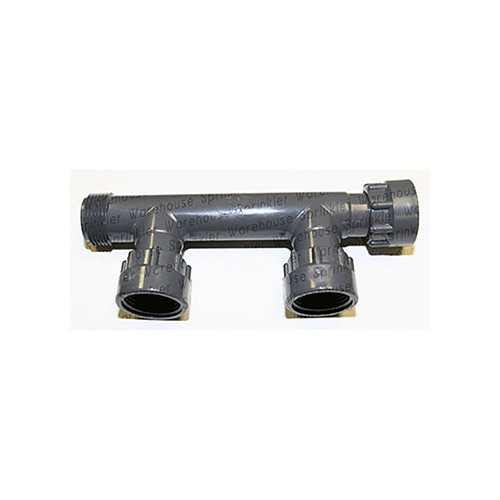 301-010-2 - 1 inch Double Port Manifold