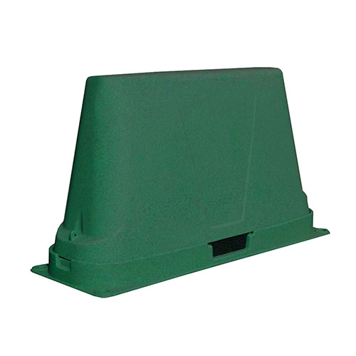 Dekorra 302-GT-C3 Large Non-Insulated Green Backflow Enclosure