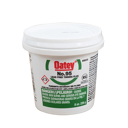 Oatey 30372 No. 95 Lead Free Tinning Flux (8 oz.)