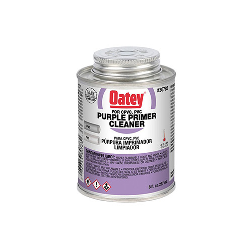 Oatey 30783 Purple All-Purpose Primer/Cleaner (8 oz.)