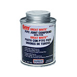 Oatey 31231 Great White Pipe Joint Compound with PTFE (8 fl. oz.)