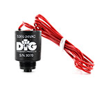 DIG 33-005 24 VAC Solenoid with 3/4 in.-20 Thread