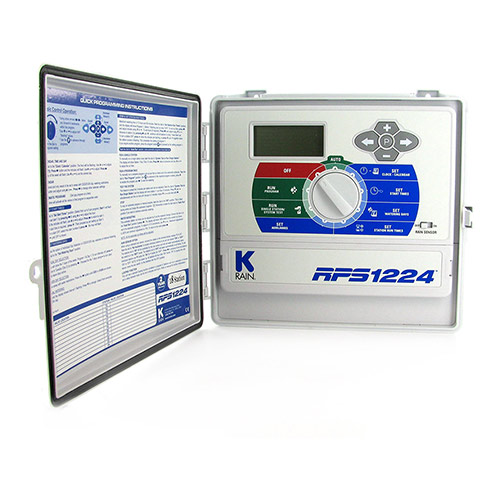 K-Rain 3718 - 18 Station 110 Volt RPS 1224 Controller with Internal Transformer