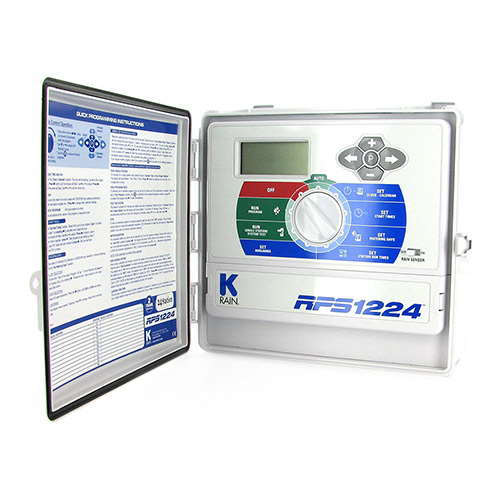K-Rain 3724 - 24 Station 110 Volt RPS 1224 Controller with Internal Transformer