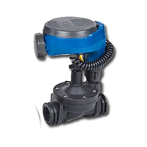 "DIG 1 Station Waterproof 1-1/2"" In-Line Valve Plastic Battery Operated Controller 