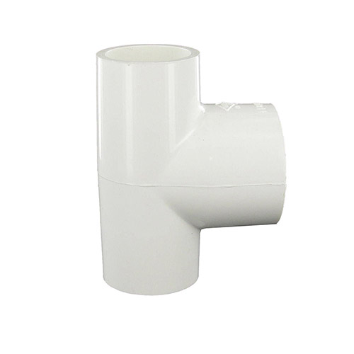 Spears 401-132 - 1 inch slip x 1 inch slip x 1-1/4 inch slip PVC Reducing Tee