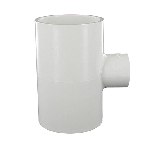 Spears 401-248 - 2 inch slip x 2 inch slip x 3/4 inch slip PVC Reducing Tee