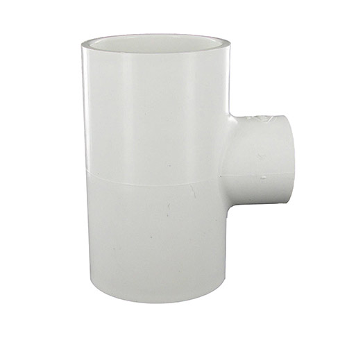 Spears 401-249 - 2 inch slip x 2 inch slip x 1 inch slip PVC Reducing Tee