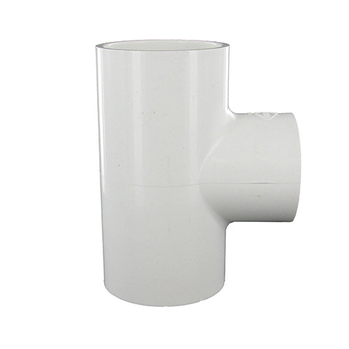 Spears 401-251 - 2 inch slip x 2 inch slip x 1-1/2 inch slip PVC Reducing Tee