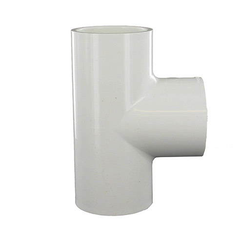 Dura 402-015 - 1-1/2 inch slip x 1-1/2 inch slip x 1-1/2 inch fpt PVC Combination Tee