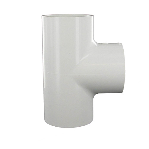 Spears 402-020 - 2 inch slip x 2 inch slip x 2 inch fpt PVC Combination Tee