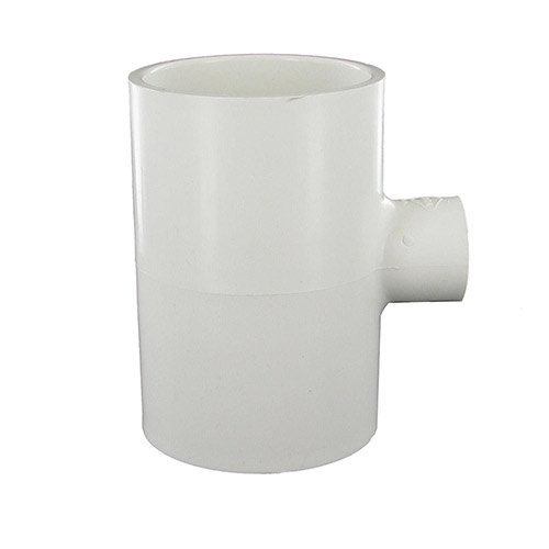 Dura 402-247 - 2 inch slip x 2 inch slip  x 1/2 inch fpt PVC Combination Tee