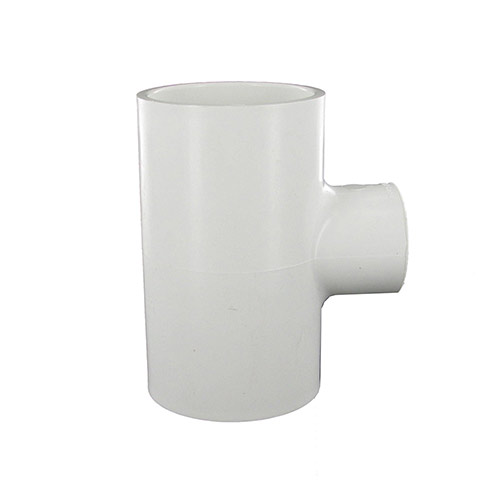 Spears 402-249 - 2 inch slip x 2 inch slip x 1 inch fpt PVC Combination Tee