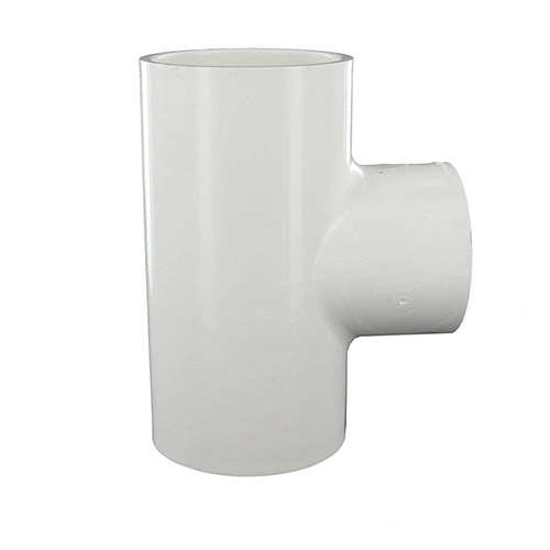 Dura 402-251- 2 inch slip x 2 inch slip x 1-1/2 inch fpt PVC Combination Tee