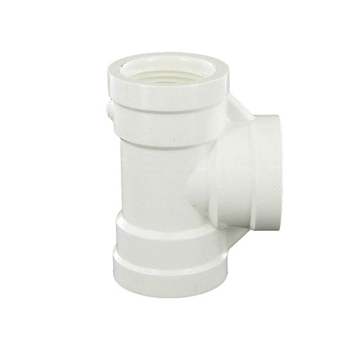 Spears 405-007 - 3/4 inch fpt x 3/4 inch fpt x 3/4 inch fpt PVC Threaded Tee